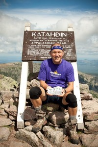 Paul Travers on Mt. Katahdin
